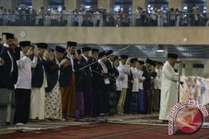 Presiden Jokowi Shalat Id di Istiqlal