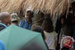 Rombongan Obama Kunjungi Objek Wisata Jatiluwih (Video)