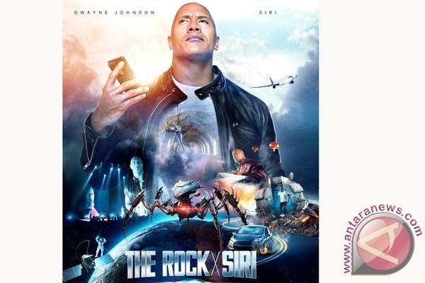 The Rock Berperan dengan Siri dalam Film iTunes