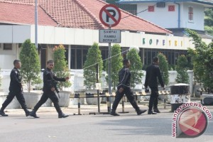 Pengamanan Pasca Penyerangan Polisi