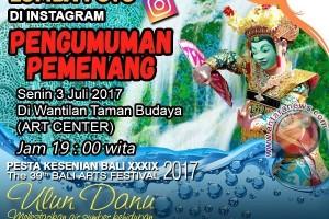 Pengumuman Pemenang Lomba Foto PKB 2017 di Instagram
