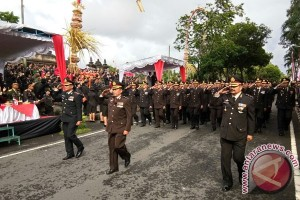 Gagahnya Defile HUT Ke-71 Bhayangkara (video)
