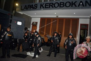 Wakapolda Bali Pimpin Razia Lapas Kerobokan