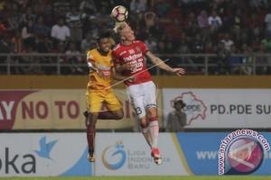 Bali United Tahan Imbang Sriwijaya FC 2-2