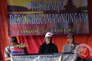 "Anggota DPRD Pantau Kegiatan ""Pasraman"" Desa Nongan"