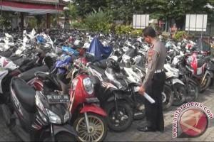 Satlantas Polres Tabanan Amankan 200 Motor Pelajar