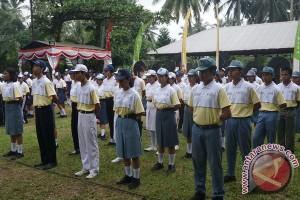 91 Pramuka Klungkung Ikuti Perkemahan Satuan Inti