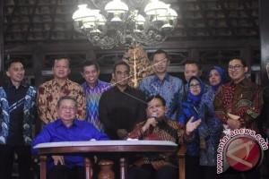 SBY dan Prabowo Jelaskan Hasil Pertemuan di Cikeas