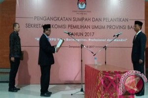 KPU RI Minta Sekretaris KPU Bali Bergerak Cepat