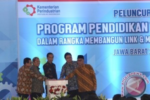 Presiden Hadiri Peluncuran Program Vokasi Industri