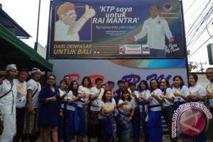 Nasdem Denpasar Dukung Rai Mantra