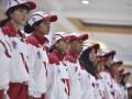 Perwakilan atlet mengikuti upacara pengukuhan kontingen Indonesia untuk SEA Games XXIX di Kuala Lumpur, Malaysia, di Wisma Kemenpora, Senayan, Jakarta, Rabu (2/8). Indonesia memberangkatkan 534 atlet, 166 ofisial serta 55 perangkat pendukung pada SEA Games XXIX di Kuala Lumpur, Malaysia, 19-30 Agustus 2017. Antara Foto/Wahyu Putro A/i018/2017
