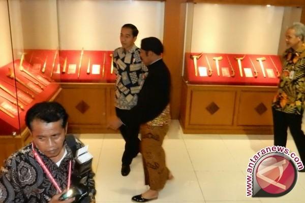 Presiden Resmikan Museum Keris Nusantara