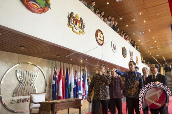 Presiden Jokowi Nyatakan Terorisme dan Narkoba Tantangan Bersama ASEAN