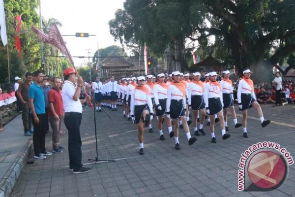67 Regu Lomba Gerak Jalan Indah Putri Meriahkan HUT RI