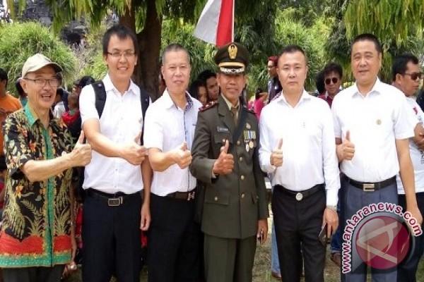 Asosiasi Pengusaha Tiongkok-Koramil Denpasar Selatan Bekerja Sama