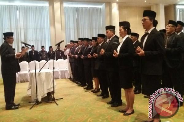 Panwaslu Klungkung lantik 16 PPL Nusa Penida