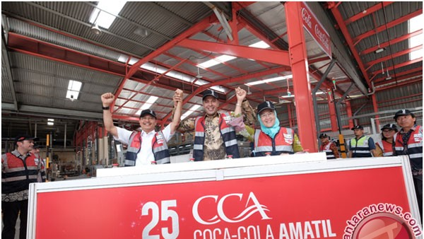 Coca Cola Bangun Pabrik Terbesar di Medan