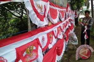 Penjualan Bendera Merah Putih di Bali Marak