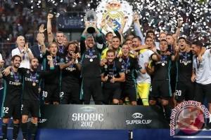 Real Madrid Juarai Piala Super Eropa 2017