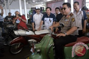 """Mobil Presiden Soekarno Dipamerkan di Ajang """"BCMS"""""""