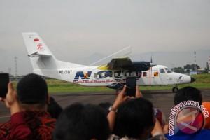 Uji Terbang Perdana Pesawat N219