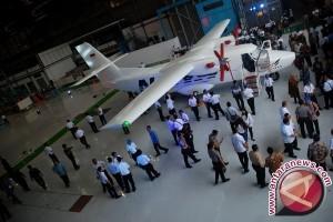 Pesawat N219 Uji Coba Penerbangan Perdana