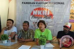 """Pakarti Bali Gelar Pameran Kartun """"NKRI Harga Mati"""""""