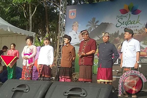 Sebelas Perlombaan Meriahkan Festival Subak Karangasem