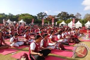 650 Peserta Ikuti Yoga Diva di Bali
