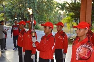 KONI Buleleng Gelar Kirab Obor Api Porprov Bali