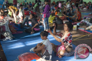 Bupati Klungkung: BPBD Lakukan Pendataan Pengungsi Gunung Agung