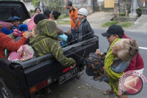 BNPB: Pengungsi Gunung Agung Mencapai 15.142 Jiwa