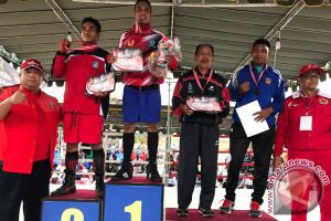 Atlet Tinju Denpasar Rebut Juara Umum Porprov