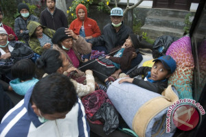 6.677 Pengungsi Gunung Agung Tetap Bertahan di Badung
