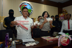 Polda Bali Membekuk Residivis Pengedar Narkoba (Video)