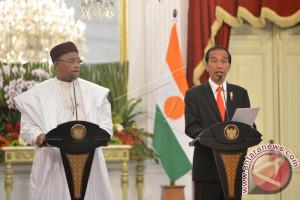 Presiden Jokowi Terima Kunjungan Kehormatan Presiden Republik Niger