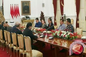 Presiden-Wakil Presiden Menerima Delegasi Dewan Olimpiade Asia