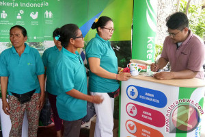 BPJS Denpasar Menyasar Pedagang Ikut Jaminan Sosial