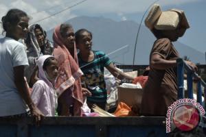 Badung Berikan Layanan Pap Smear Pengungsi Gunung Agung