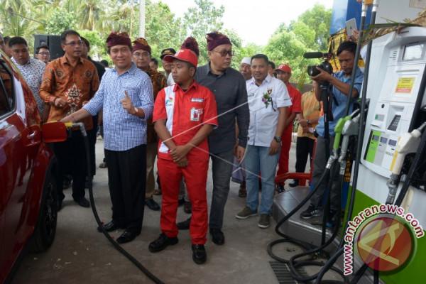 Peresmian SPBU Satu Harga di Nusa Penida