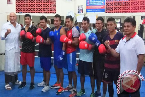 Tim Tinju Bali Memboyong Tiga Medali Kejurnas 2017