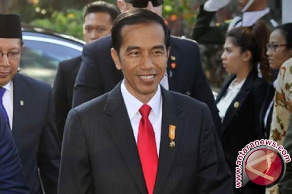 Presiden Jokowi bertolak ke Lampung