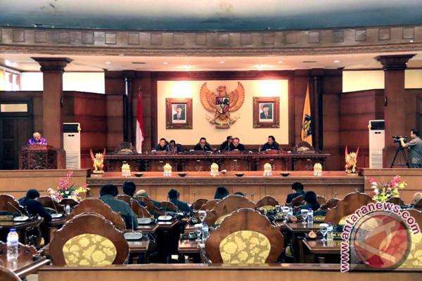 DPRD Bali dengarkan Gubernur tanggapi APBD Perubahan