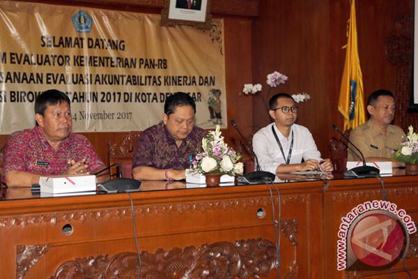 Kementerian PAN-RB Mengevaluasi Kinerja Pemkot Denpasar