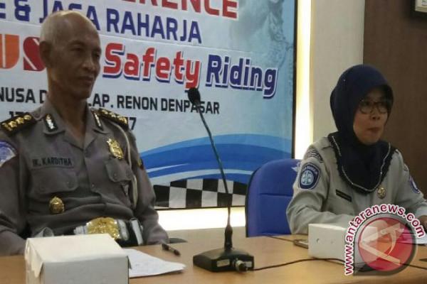 JR-Polda Bali Menyasar Mahasiswa Kampanyekan Aman Berkendara