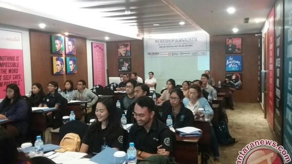 Puluhan Mahasiswa Mengikuti Pelatihan Jurnalistik LKBN Antara Bali