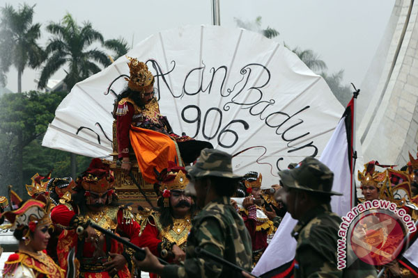 """Disbud Denpasar Partisipasi """"Karnaval Keprajuritan Nusantara"""" di TMII"""