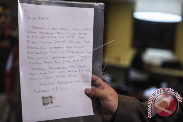 Surat untuk Pimpinan DPR