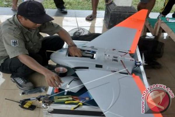 Tim Drone PVMBG Pantau Kawah Gunung Agung